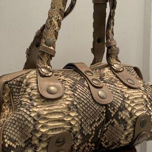Chloe Python Silverado Bag